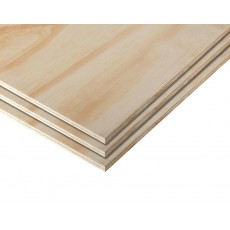 Plywood  4x8x5mm (+/-) Tropical Wood